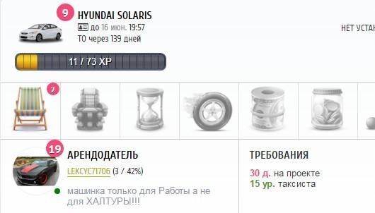 Аренда «Hyundai Solaris»