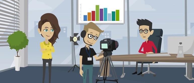 Создание роликов на Ютуб