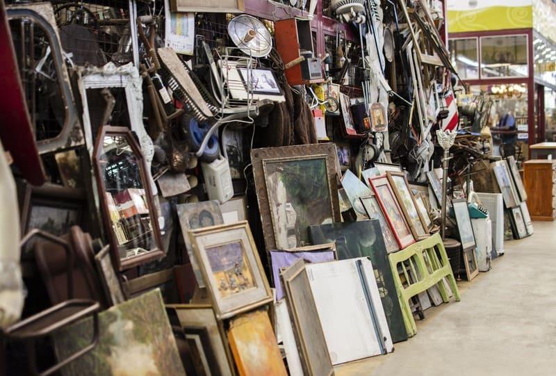 Обустройство объектов антикварного рынка