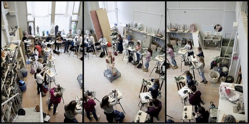 Выпускной в академии художества